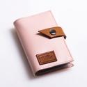 Light pinky - bankkártya tartó, Táska, Pénztárca, tok, tárca, Pénztárca, Erszény, Design:   Stílusos és csajos bankkártya tartót készítettem puha tapintású marhabőrből.12 részes műan..., Meska
