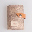 Golden shine - bankkártya tartó, Táska, Pénztárca, tok, tárca, Pénztárca, Erszény, Design:   Stílusos bankkártya tartót készítettem puha tapintású kecskebőrből. 12 részes műanyag kárt..., Meska