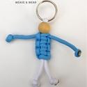 Parapajti kulcstartó, Mindenmás, Kulcstartó, Kedves kis barát a mindennapokra, aki vigyáz a kulcsaidra. Kérésre más színekben is elkészítem. Akár..., Meska