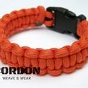 Kobra Paracord karkötő egyszínű 550/4mm, Ékszer, Karkötő, A közkedvelt Kobra alap, egyszínű 4 mm-es zsinórból.  Írd meg a csukló méretet, a zsinór é..., Meska