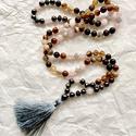 CREATIVITY 108 szemes ásványgyöngy női Mala nyaklánc