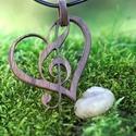"""Organic - fa ékszerek - A """"szív hangja"""", Gyönyörű, egyedi, kézzel gyártott fa ékszere..."""