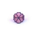 Tavasz Virág, peyote gyűrű, Lucky Clover , Ékszer, Gyűrű, Ékszerkészítés, Gyöngyfűzés, Szereted a virágos, virágmintás kiegészítőket? Ha igen, ez az alkotás pont neked való :)   Szerencs..., Meska
