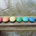 Csakrakő kollekció - Festett kő - Mandala kő, A teljes csakrakő kollekció, a 7 csakra minden s...