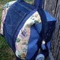 ,,CSILLA'' NAGYON nagy pakolós farmertáska,  Strapabíró,nagy- nagy, egyedi táskát készít...