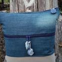 ,,Csiga'' hátizsák vagy oldaltáska?,  Strapabíró, nagy, egyedi táskát készítettem...