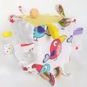 Tukán babakocka, Gyerek & játék, Játék, Baba játék, Készségfejlesztő játék, A babakockák a finommotorikát, látást, szem-kéz kordinációt fejlesztő hatásuk miatt a legkisebbek né..., Meska