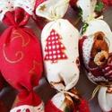 Macis, arany szaloncukrok, Otthon & lakás, Karácsony, Dekoráció, Ünnepi dekoráció, Karácsonyfadísz, Karácsonyi dekoráció, Ha szereted a meleg hangulatú, mézeskalàcs illatú Karàcsonyt, a nagyszüleim karàcsonyfa dìszeit, az ..., Meska