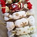 Macis, arany szaloncukrok, Otthon & lakás, Dekoráció, Ünnepi dekoráció, Karácsonyi, adventi apróságok, Karácsonyfadísz, Karácsonyi dekoráció, Ha szereted a meleg hangulatú, mézeskalàcs illatú Karàcsonyt, a nagyszüleim karàcsonyfa dìszeit, az ..., Meska