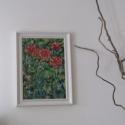 Virágzás, Képzőművészet, Festmény, Olajfestmény, Festészet, Szép  napot kívánok!   A kép mérete:42x31 cm - kerettel együtt. A vastagsága a keretnek kb.:4cm Ola..., Meska