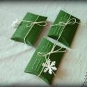 Fenyők - karácsonyi dobozok, apróságoknak, Apróságot adsz ajándékba? Neked készítettem ...