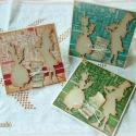 Karácsonyi ének -  3 db képeslap, Karácsonyi üdvözleteid méltó helyen lesznek e...
