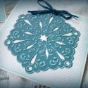 Hópihe - 2 db képeslap, Karácsonyi üdvözleteid méltó helyet kapnak ez...