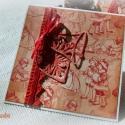 Díszesen... - 2 db képeslap, Karácsonyi üdvözleteid méltó helyet kapnak ez...