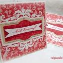 Áldott Karácsonyt! - 2 db képeslap, Karácsonyi üdvözleteid méltó helyet kapnak ez...