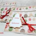 Boldog Karácsonyt! - 2 db képeslap, Karácsonyi üdvözleteid méltó helyet kapnak ez...