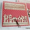 Boldog Karácsonyt - 2 db képeslap, Karácsonyi üdvözleteid méltó helyet kapnak ez...