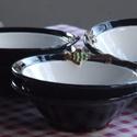 Halászlés tányér készlet, Konyhafelszerelés, Halászlés mély tányér. 6db, Meska