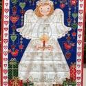 Angyalkás adventi naptár