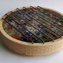 Orgonit tányéralátét, Mindenmás, Orgonit tányéralátét több, mint 60 kristályból és fémből.   Az alátét burka 3D nyomtatá..., Meska