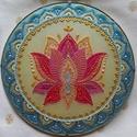Lótusz Mandala, A lótusz az újjászületés, a megvilágosodás,...