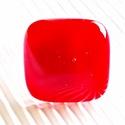 Meggypiros üveg gyűrű, üvegékszer, AKCIÓ! - 3 BÁRMILYEN TERMÉK vásárlása eseté...