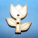 Dekor fagomb(tulipán), Dekor fagombok (1 db)  Egyedi dekor fagombok rét...
