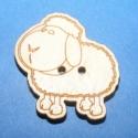 Dekor fagomb(bárány), Dekor fagombok (1 db)  Egyedi dekor fagombok rét...