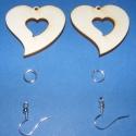Fa füli alap(szív szívben), Fa füli alap(szív szívben) Mérete 4x4cm A cs...