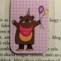 Birthday GIRL- mini MÁGNESES könyvjelző 1db, Naptár, képeslap, album, Könyvjelző, Fotó, grafika, rajz, illusztráció, Papírművészet, BIRTHDAY GIRL, Boldog Születésnapot könyvjelző az ünnepeltnek.  Ez egy mágneses könyvjelző, amely i..., Meska
