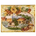 Fali kép festő vásznon, Dekoráció, Kép, 24x30 cm, Meska
