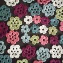 Hét szín virágok, 42 db. színes virág várja kreatív gazdáját, ...