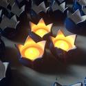 Köszönőajándék- virágmécses 1 db, Dekoráció, Esküvő, Meghívó, ültetőkártya, köszönőajándék, Köszönőajándék- ültető- hangulatos világítás- virágmécses felírattal esküvőre!  Kézi korongozással k..., Meska