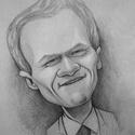 Barney Stinson, Képzőművészet, Grafika, Rajz, Fotó, grafika, rajz, illusztráció, FER-GE-TE-GES! Neil Patrick Harris Barney karakterének köszönheti hírnevét. A/4-esben készült, művé..., Meska
