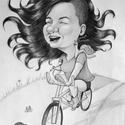Karikatúra fotóról, Képzőművészet, Grafika, Rajz, Fotó, grafika, rajz, illusztráció, Lepj meg valakit egy személyre szóló karikatúrával vagy portréval. Adhatod a főnöködnek, a szerelme..., Meska