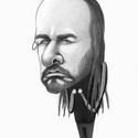 Jonathan Davis, Képzőművészet, Grafika, Rajz, Fotó, grafika, rajz, illusztráció,  Portré vagy karikatúra barátról, kutyusról, hírességről, főnökről, nagyiról. Egyedi, személyes ajá..., Meska