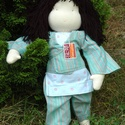 Kínai baba, Baba-mama-gyerek, Játék, Baba, babaház, Nagyobbacska, Kb. 40-45 cm magas, waldorf típusú baba .Kéz és lábfeje van, a törzs, a karok é..., Meska
