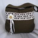 Kakaó, Kakaó színű anyagból készült ez a kis táska...