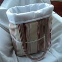 Szett HELGÁNAK! Fonaltartó táska és manikűr készlet tartó