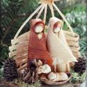 Betlehem4  , Peddignádból font karácsonyi Betlehem. Mérete:...