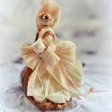 Édesanya, Dekoráció, Baba-mama-gyerek, Dísz, Fonás (csuhé, gyékény, stb.), Csuhéból készült ajándéktárgy. Babalátogatóra, anyák napjára....vagy csak kedvességből egy édesanyá..., Meska