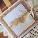 Esküvői CD/DVD-tartó dupla, Dekoráció, Naptár, képeslap, album, Esküvő, Esküvői dekoráció, Egyedi tervezésű, készítésű CD/DVD-tartó.  Használhatod esküvői felvételek, baba- és kismamafotózás ..., Meska
