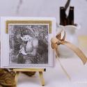 CD/DVD-tartó dupla, Dekoráció, Naptár, képeslap, album, Esküvő, Esküvői dekoráció, Egyedi tervezésű, készítésű CD/DVD-tartó.  Használhatod esküvői felvételek, baba- és kismamafotózás ..., Meska