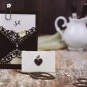 Vintage pénzátadó boríték , Esküvő, Naptár, képeslap, album, Képeslap, levélpapír, Meghívó, ültetőkártya, köszönőajándék, Csodaszép díszítéssel  készült pénzátadó boríték.  A letisztult ízléssel rendelkezőknek ajánlom.:)  ..., Meska