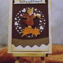 Boldog születésnapot, Dekoráció, Naptár, képeslap, album, Képeslap, levélpapír, Egyedi, kézzel készült képeslap. A csomag 1 db képeslapot és borítékot tartalmaz. Mérete: 13,5X15 cm..., Meska