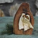 Betlehem2, Egzotikus termésben elhelyezett Betlehem. Mérete...