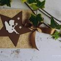 Karácsonyi CD/DVD-tartó dupla , Dekoráció, Naptár, képeslap, album, Karácsonyi, adventi apróságok, Ünnepi dekoráció, Egyedi tervezésű, készítésű CD/DVD-tartó. Dupla CD tárolására alkalmas , Meska