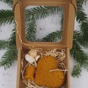 Gyertya angyallal, Dekoráció, Karácsonyi, adventi apróságok, Ünnepi dekoráció, Karácsonyi dekoráció, A csomag 2 gyertyát és 1 angyalkát tartalmaz. , Meska