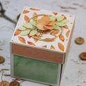 Pénzátadó doboz, Esküvő, Nászajándék, Esküvőre vagy bármilyen más alkalomra  ajánlom a következő saját készítésű  pénzátadó dobozkákat.  H..., Meska