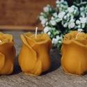 Szíves   gyertya, A méz illatát, a méhek szorgalmát , a nyári n...